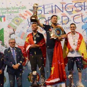 Gomas planas de tirachinas Sumeike, Marca del campeón del campeonato mundial de tirachinas