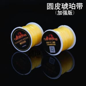 Slingshot tying material amber belt