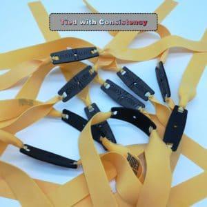 Customized Slingshot Tapered Flat band set   Any taper   Any length   Any thickness   TTF or OTT   fully customizable