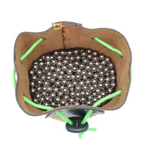 Slingshot ammo carrying bag