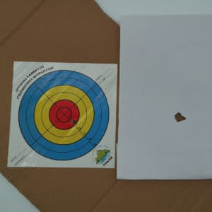 GM&BW catapult Adhesive Target Paper  Slingshot World Cup Official Size