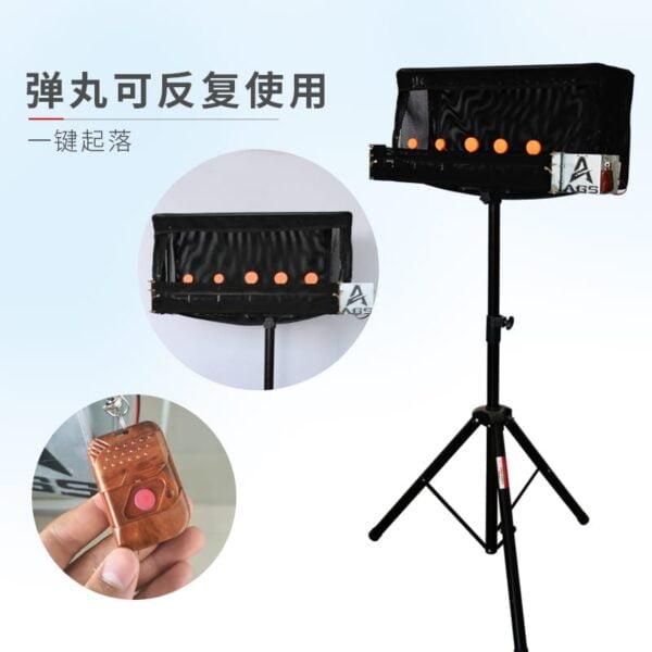 Remote control slingshot target box