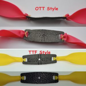 Customized Slingshot Tapered Flat band set   Any taper   Any length   Any thickness   TTF or OTT   fully customizable