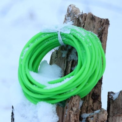 Slingshot green tubes