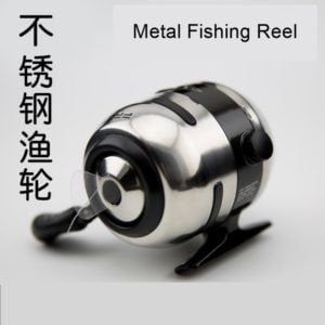 Slingshot fishing Reel metallic