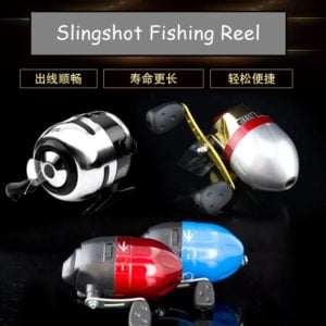 Slingshot fishing reel