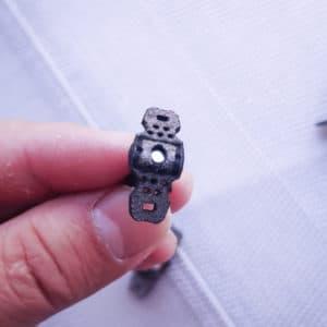 T shape magnetic pouch