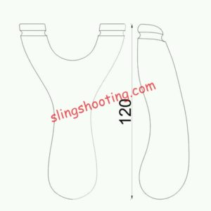 slingshot drawing for DIY b2