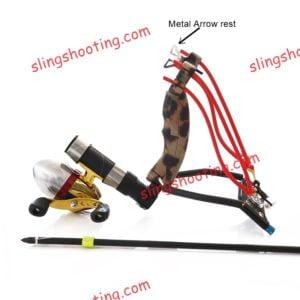 slingshot metal arrow rest