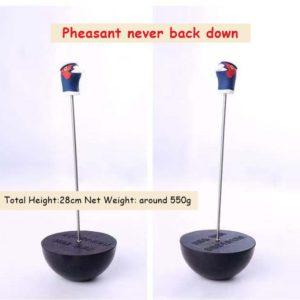 Pheasant head slingshot target
