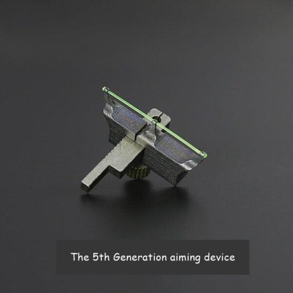 Qice D1 OTT slingshot 5th aiming device
