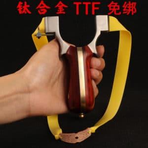 Catapulta TTF titanio