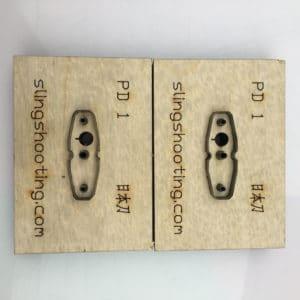 make slingshot pouch