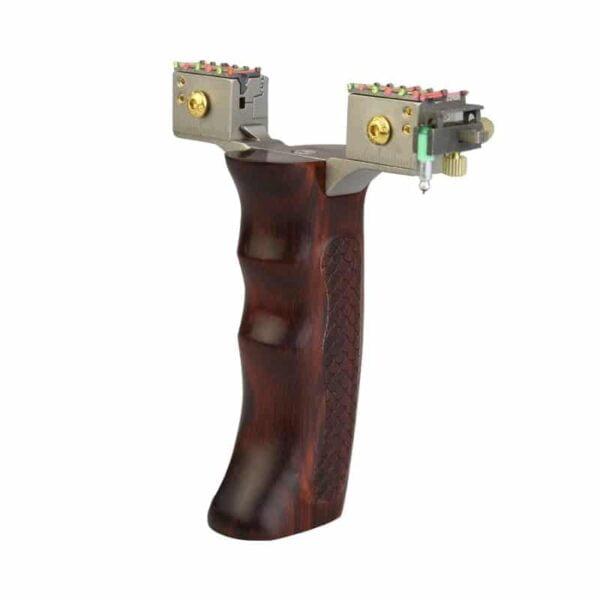 qice D1 ott slingshot wooden handle