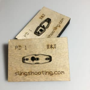 slingshot pouch die