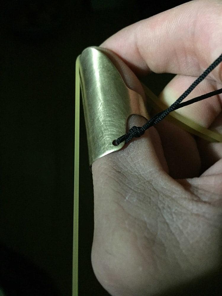 protector de uñas para tirachinas sin horquilla