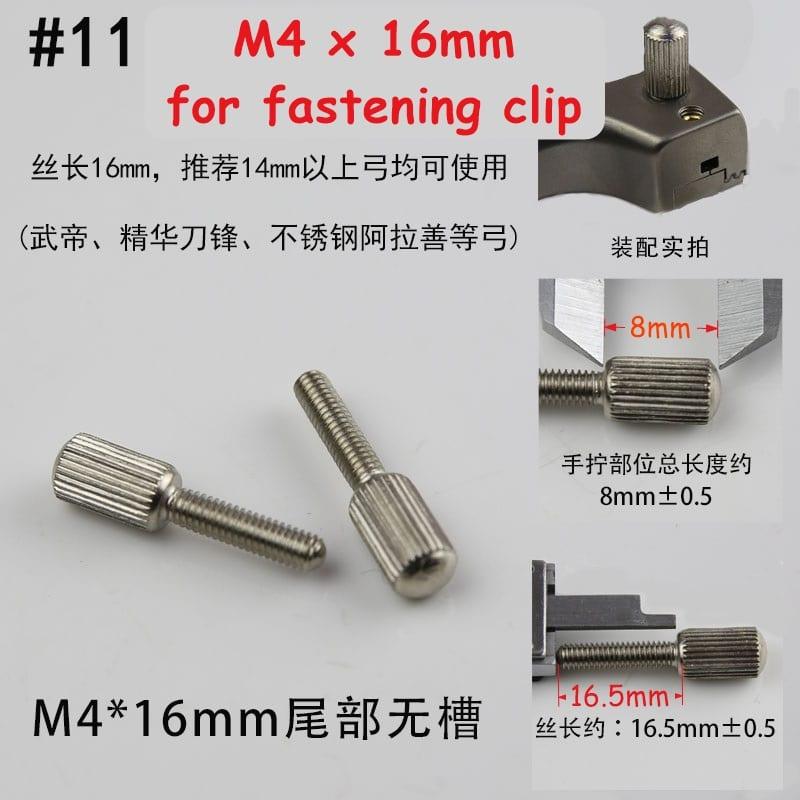 screw for slingshot number 11