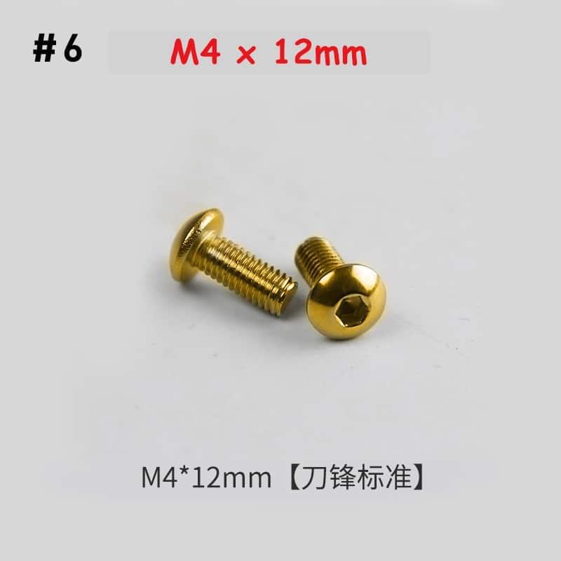 screw for slingshot number 6