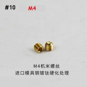 tornillo para tirachinas número10
