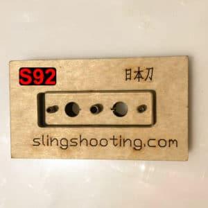 slingshot pouch cut