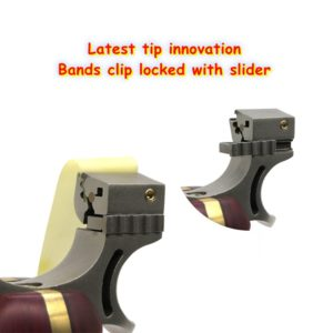 bands clip locked by slider