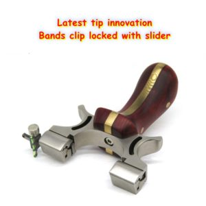 bands clip locked with slider