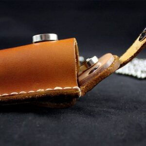 cow leather catapult ammo holder