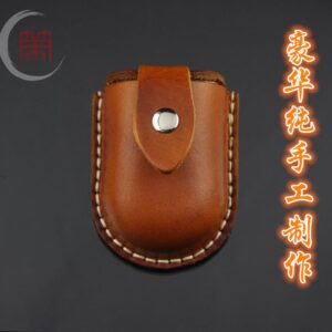 slingshot cow leather pouch