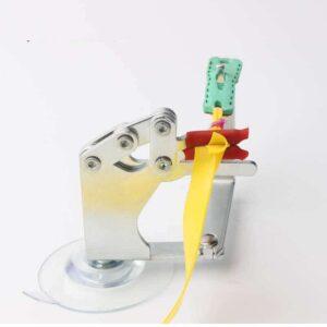 Mini herramienta de atado de gomas